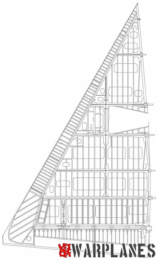 F-102B wing