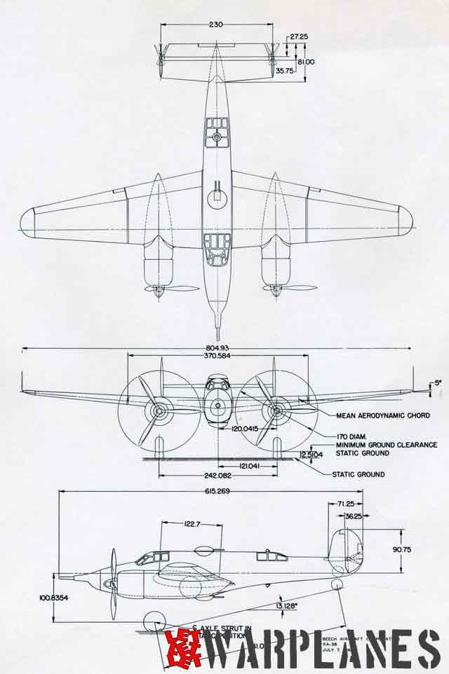Beechcraft XA-38 Grizzly