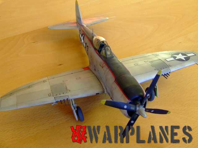 Finally assembled kit P-47D
