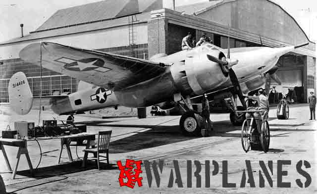 The first XA-38 is readied for the start.  (Mark Nankivil collection)