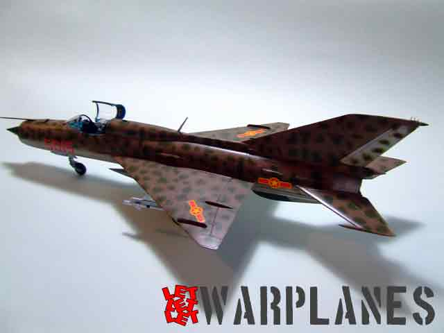Eduard kit MiG-21PFM in 1/48 scale