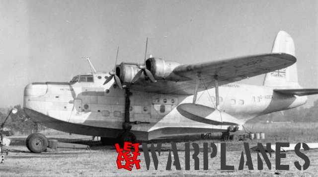 Short Sunderland Mk. III Hatfield G-AGER of Aquila Airways was one of the civil conversions. It was ex-JM660.