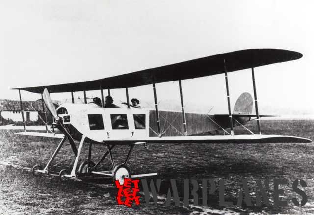 Sopwith 3-seat  biplane (1913)
