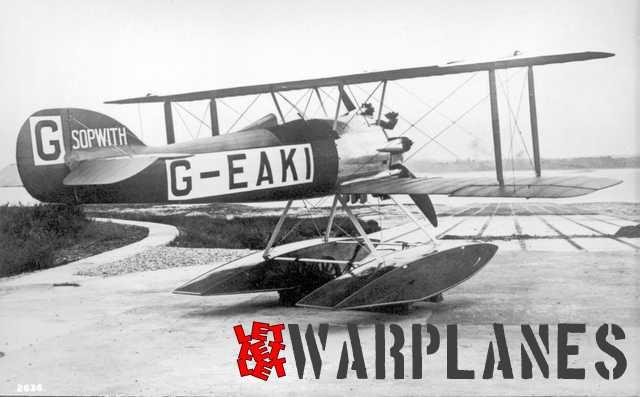 Sopwith G-EAKI Schneider cup racer, 1919 Dan Schumaker collection