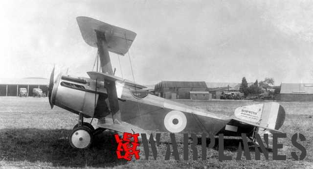 Sopwith Triplane 150 hp Hispano engine