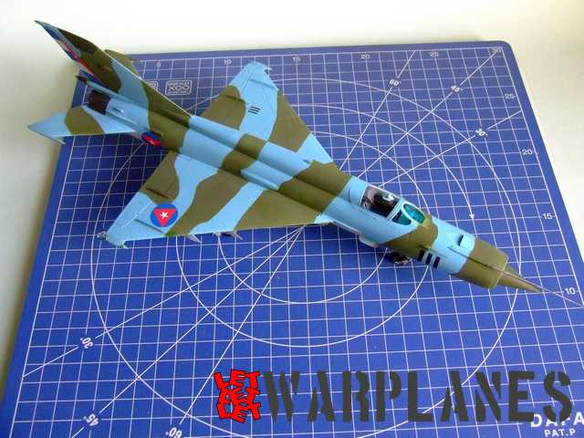 Eduard Kit of MiG-21R in 1/48 scale