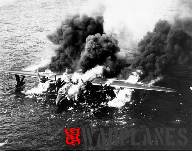 The sad end of ´Marshall Mars´ on 5 May 1950 when it burned out and sank after an engine fire.