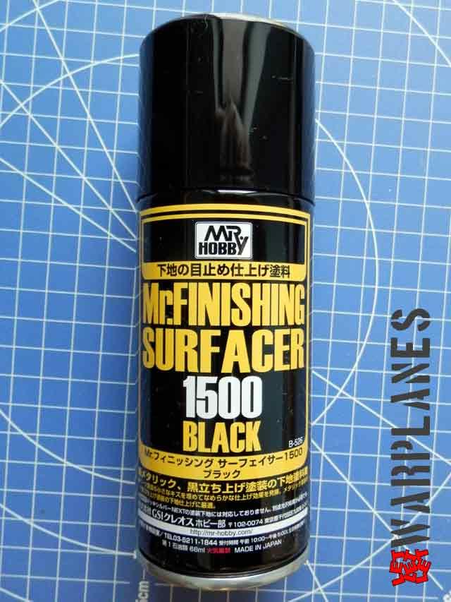 Mr. Finishing Surfacer Black
