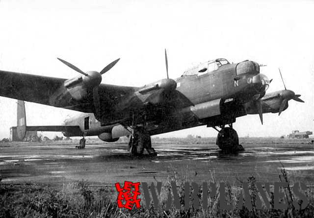 A Pathfinder Lancaster fitted with H2S ground mapping radar