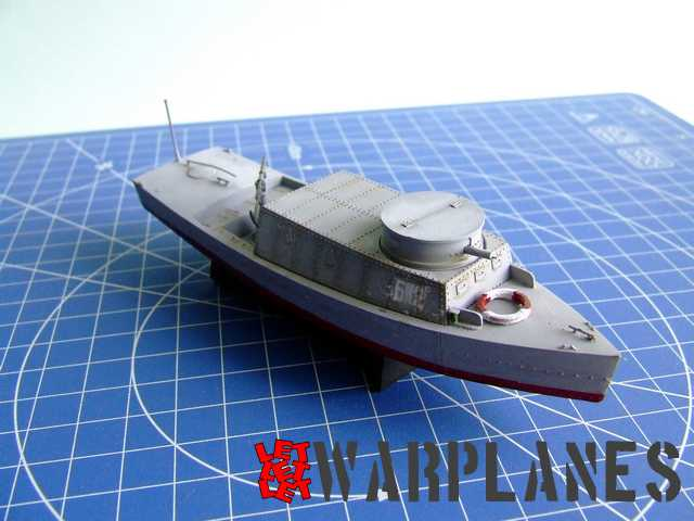 BK-2 patrol boat resin kit