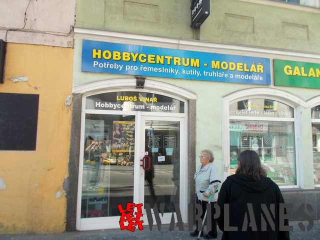 Hobbycentrum from the Czech Republic