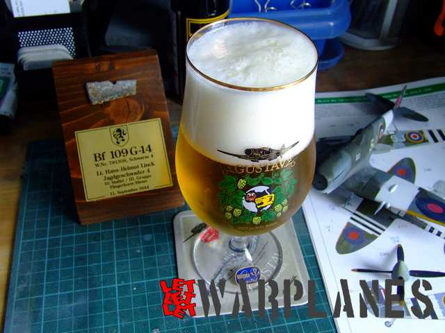 Eduard Bf 109G Royal Class beer glass, excellent to relax