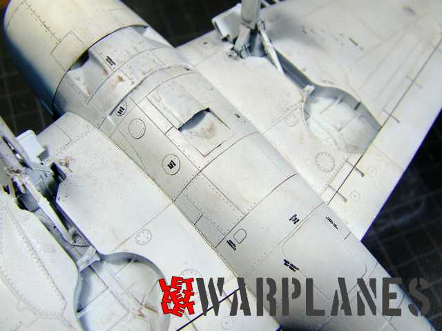 Ultimate weathering wash used on Grumman Hellcat