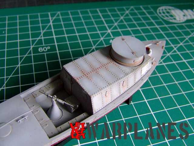 Ultimate weathering wash used on boat kit