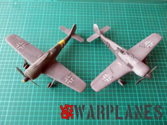 Eduard re edition of the FW 190A kits