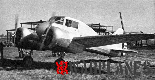 The CW-25 prototype for the AT-9 Jeep. The fuselage was made of tubular steel covered with fabric