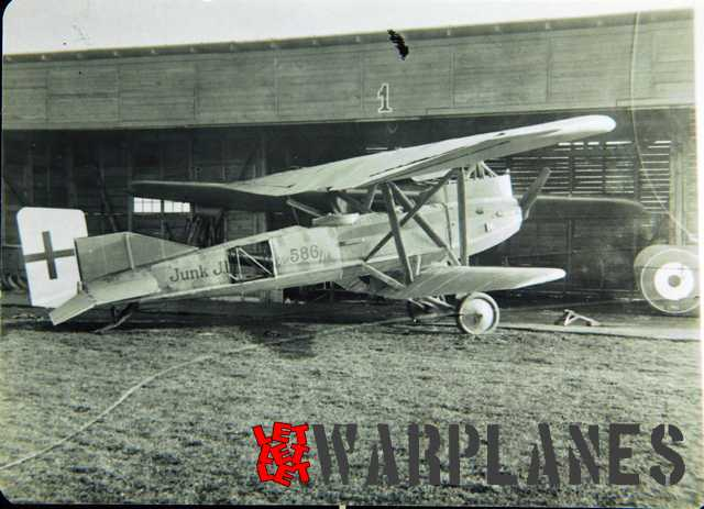 Junkers J.I reference photo for the kit