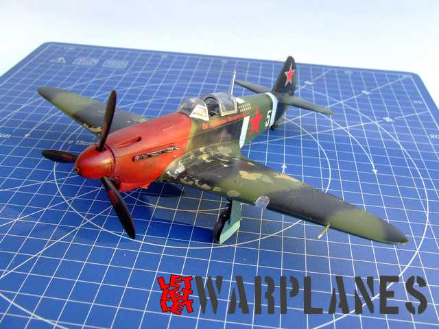 Yak-1B in 1/48 by Eduard
