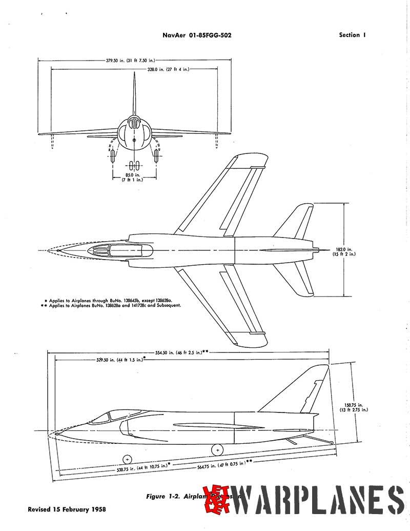 F11F general arrangement