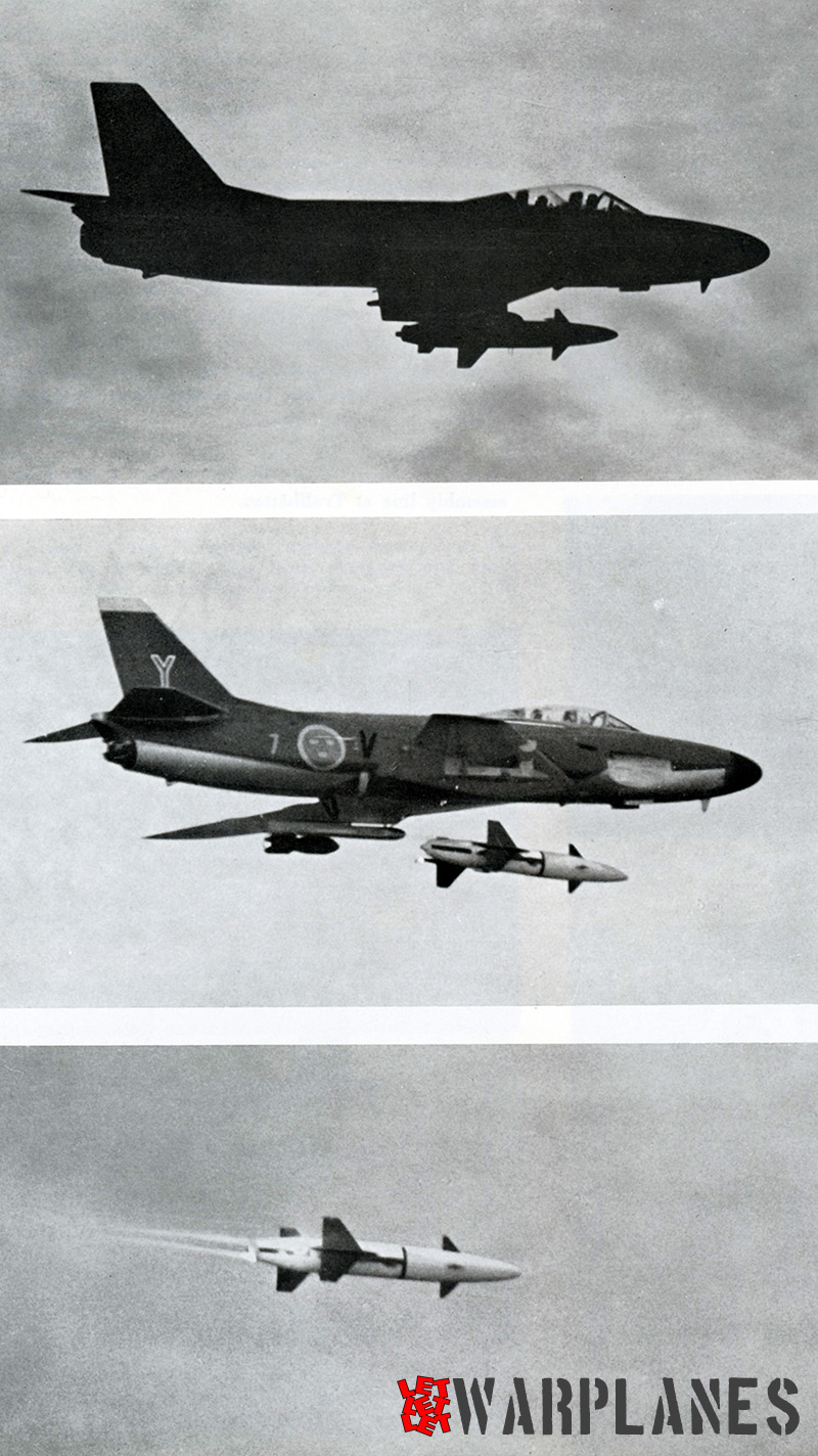Firing sequence of the Rb 304 weapon from an A 32A. (SAAB Sonics)
