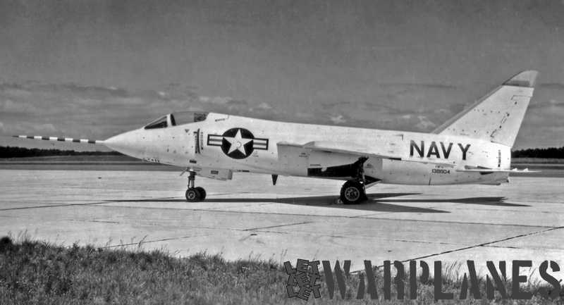 The first Tiger no. 138604,  still designated as Grumman F9F-9. The prefix 'X' to indicate it was a prototype was never used