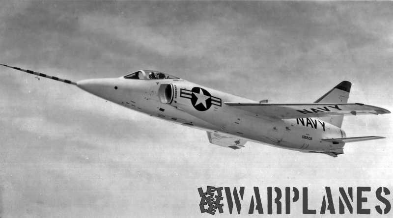 Nice in-flight publicity shot of the third F11F-1 Tiger no. 138606. (Mark Nankivil collection)