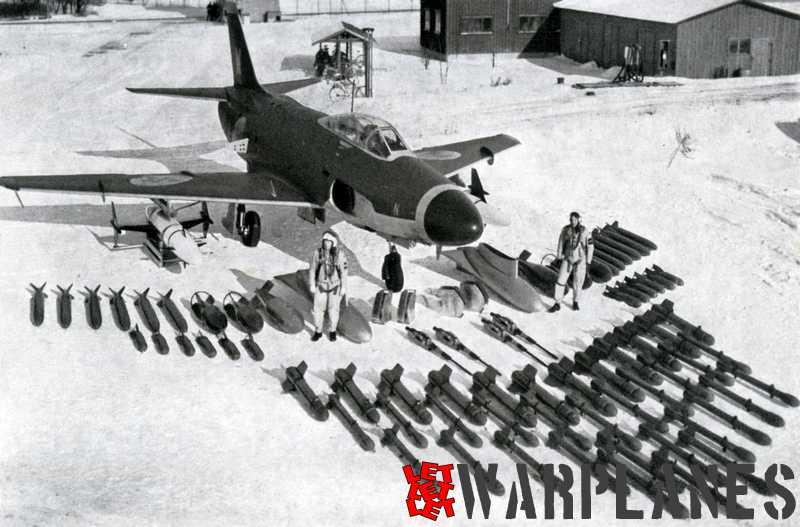 SAAB A 32A armament overview. (SAAB Sonics)