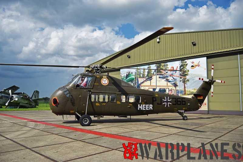 D-HAUK in front of Aviodrome's T2 hangar