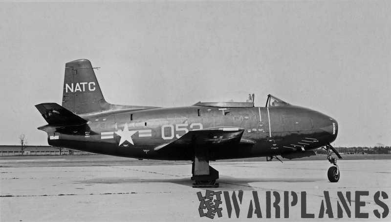 North American XFJ-1 BuNo. 39053 prototype NATC Patuxent River
