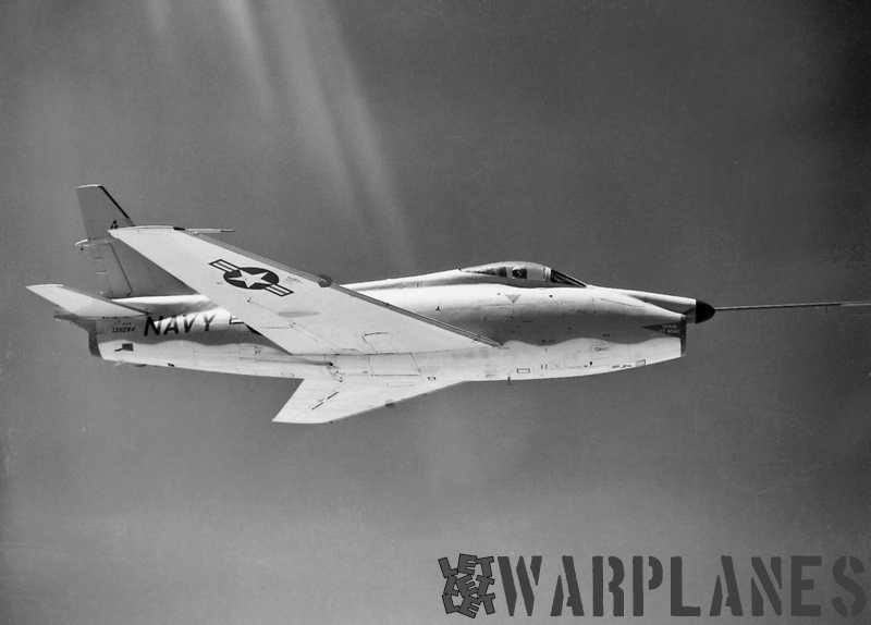 North-American-FJ-4F-Fury-1957-BuNo.-139284-withou-rocket-motor