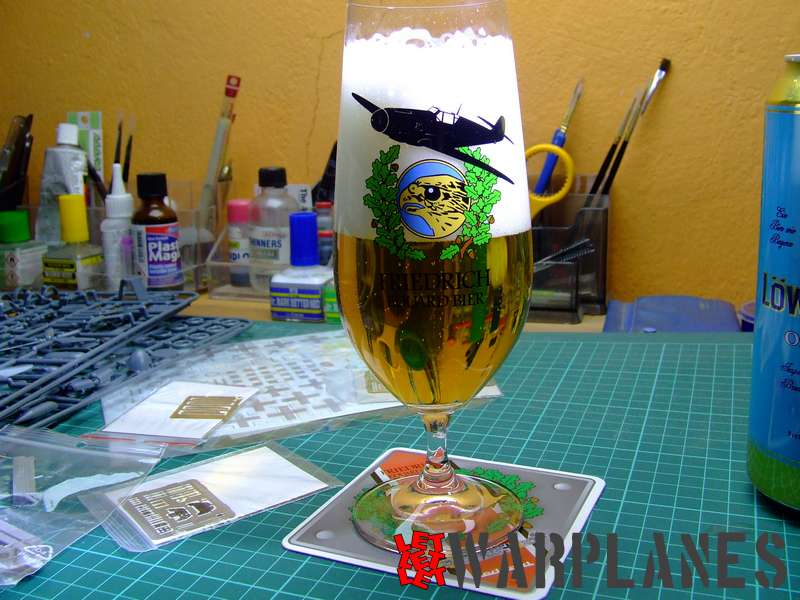 Bf 109F Royal Class glass, beer is not included