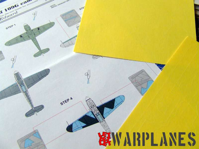 Bf 109G splinter mask