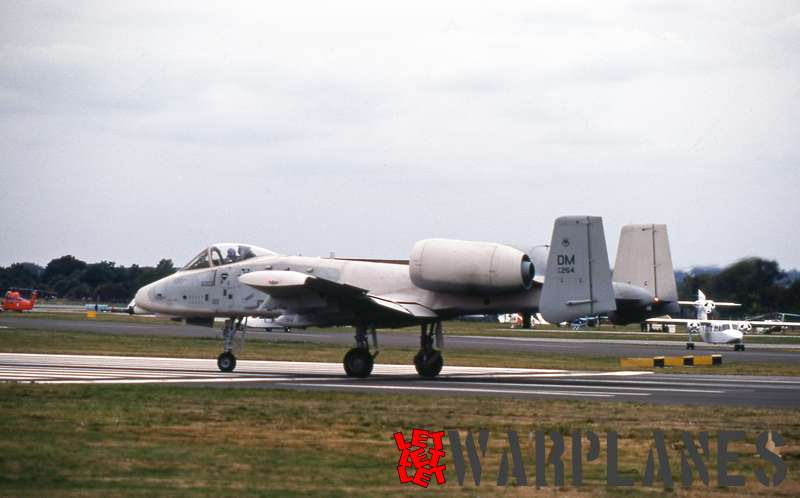 Fairchild A-10A Thunderbolt II no. 264 (Nico Braas collection)