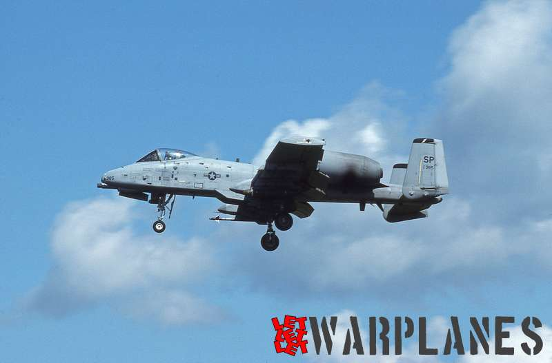 Fairchild A-10A Thunderbolt II no. 81-0985 (Nico Braas collection)