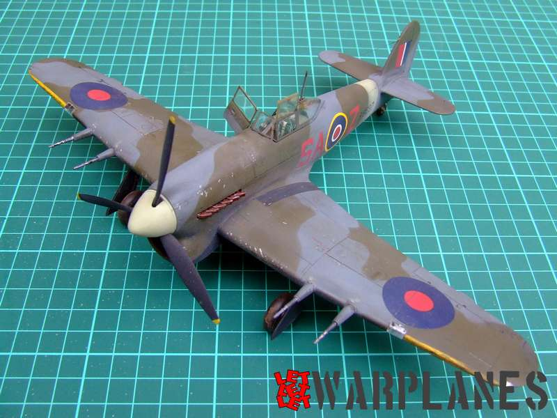 Hawker Typhoon Eduard 1/48