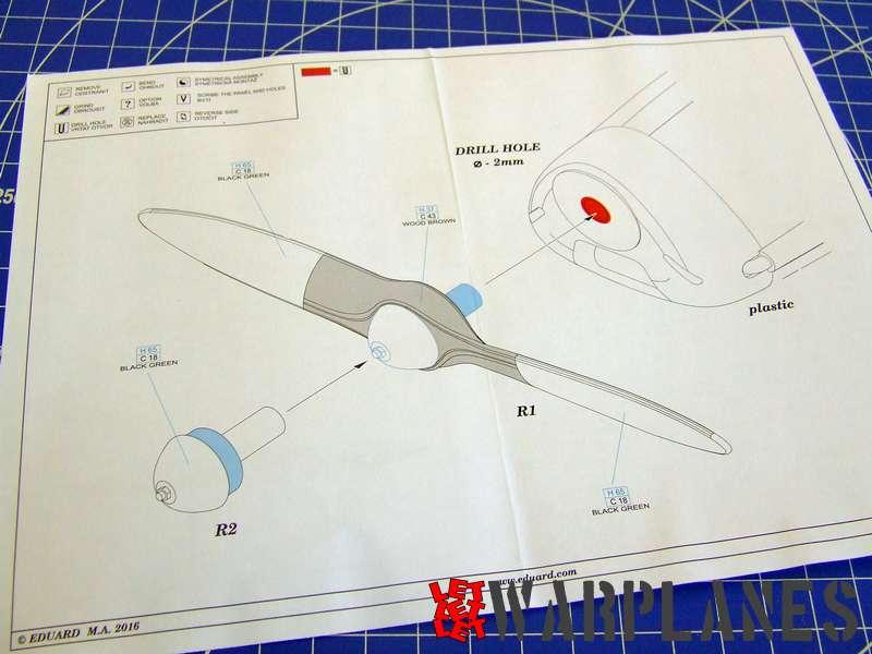 Bf 108 resin propeller