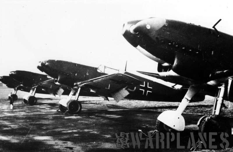 Messerschmitt Me 109C-1, Bernburg 1938