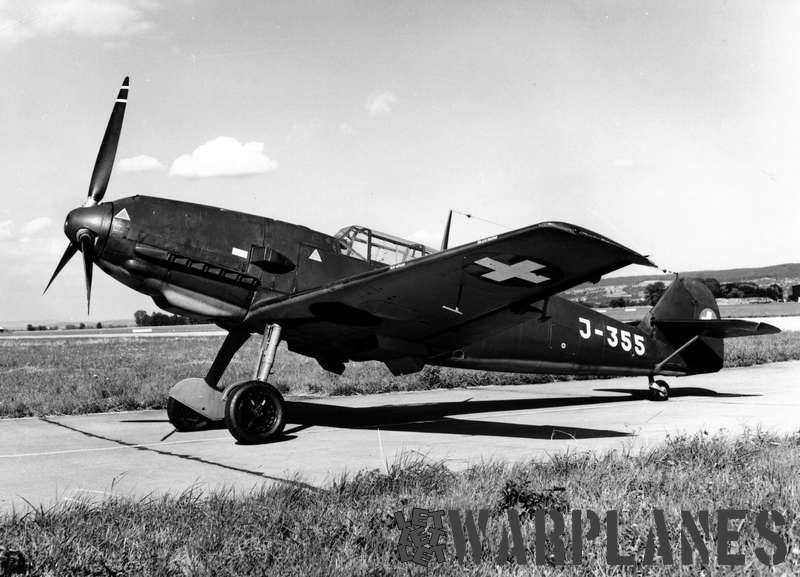 Messerschmitt Me 109E J-355 Swiss AF
