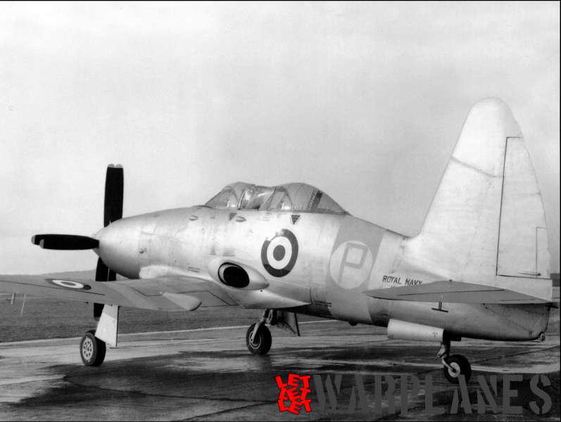 The single T.3 dual-seat training version of the Wyvern. Only one was built!