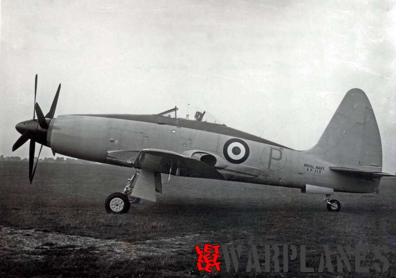 VP113 was the second Python powered Wyvern prototype