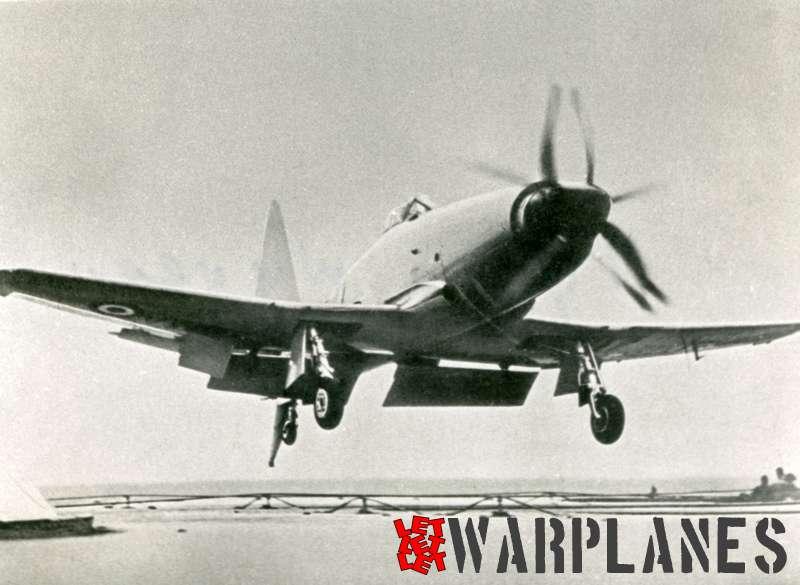 Westland Wyvern TF.2 deck landing