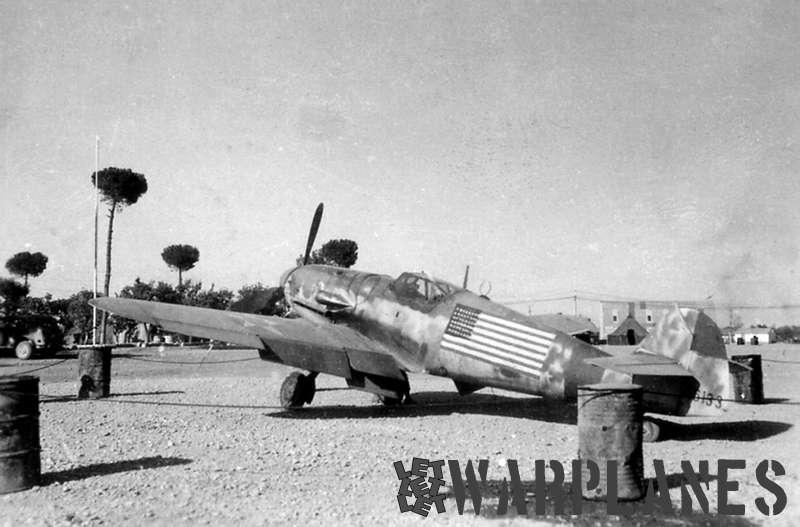 Messerschmitt Bf 109G captured U.S.A.