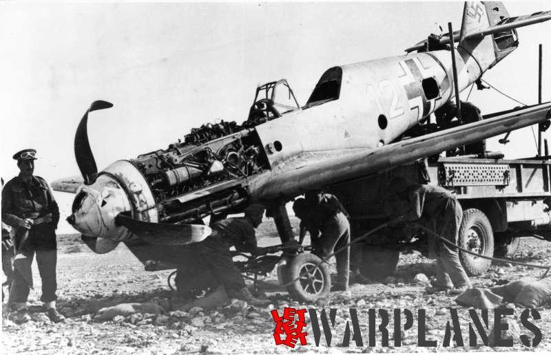 Messerschmitt Me-109F captured RAF East Africa