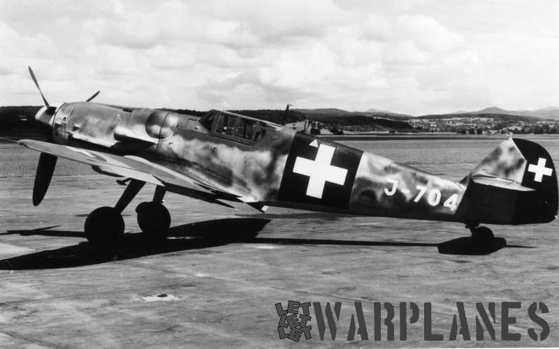 Messerschmitt Me-109G Swiss AF