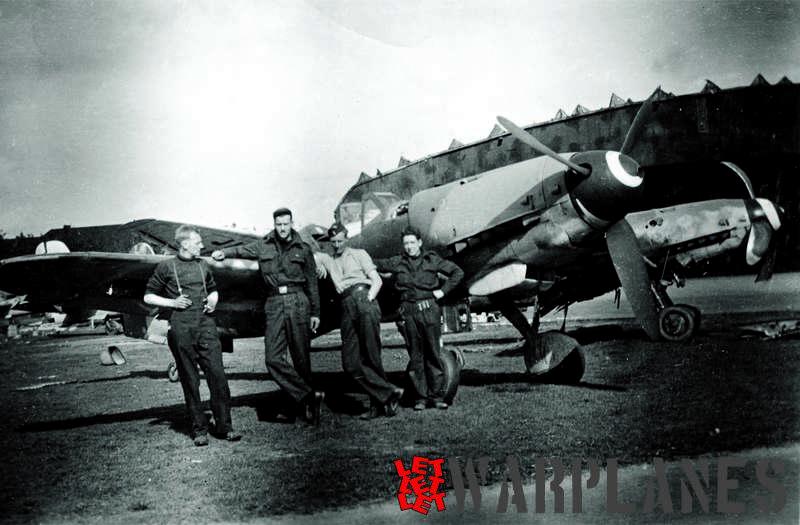 Messerschmitt Bf 109 K-4 (Ron Dupas collection)