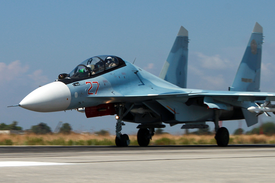 Sukhoi Su-30SM  (credit  Russian Ministry of Defence)