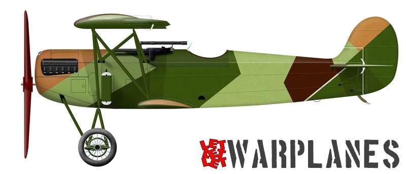 Fokker D.XI Soviet camouflage test