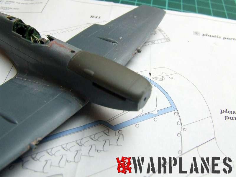 Spitfire Mk. IX top cowling on kit