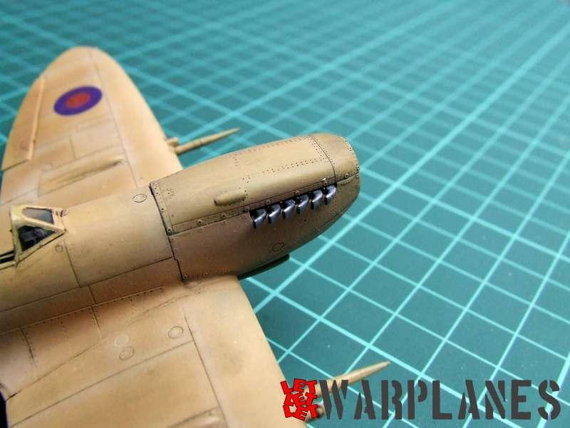 Eduard Spitfire exhaust