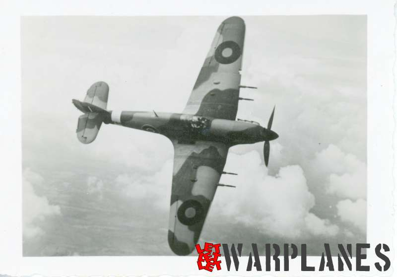 Hurricane Mk.II in flight